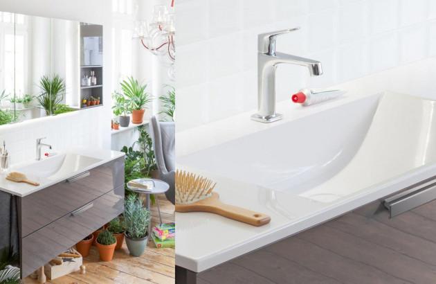 Conceptwall meuble tout en un par Burgbad