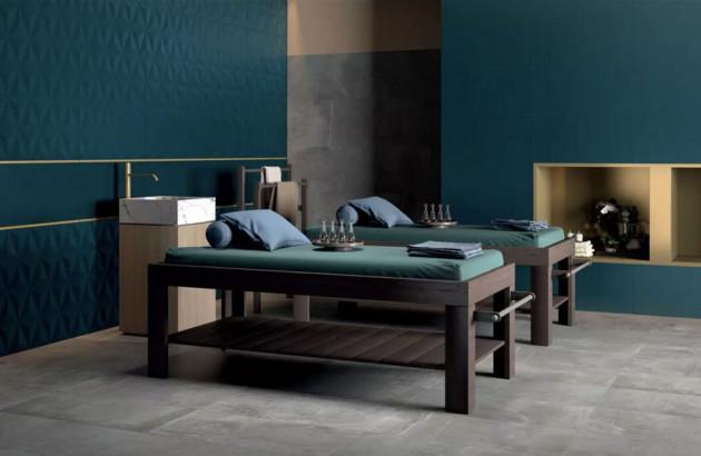 Carrelage 4D Marca Corona pour créer une salle de bains suédoise