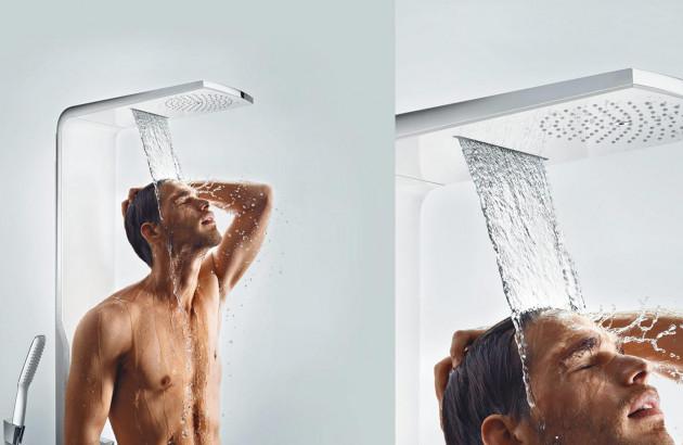 Colonne de douche parentale Duschpaneel Raindance par Hansgrohe
