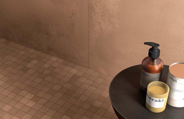 Collection carrelage Terra de la marque Lafaenza pour votre douche italienne