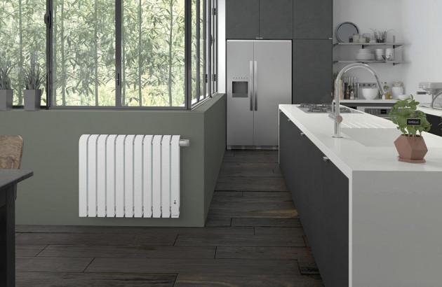 Radiateur en aluminium et design Mythik de la marque Thermor