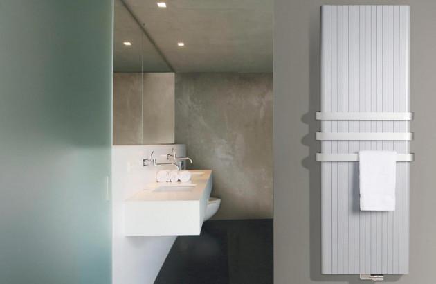 Radiateur design en aluminium Alu Zen de Vasco