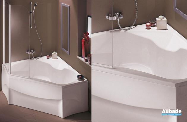 Top baignoire d\'angle pour petite Salle de Bain | Espace Aubade