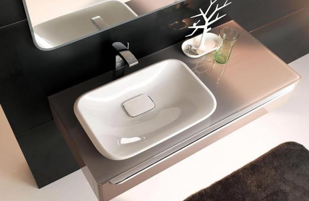 Sublime vasque Myday Allia pour rénover une petite salle de bains.