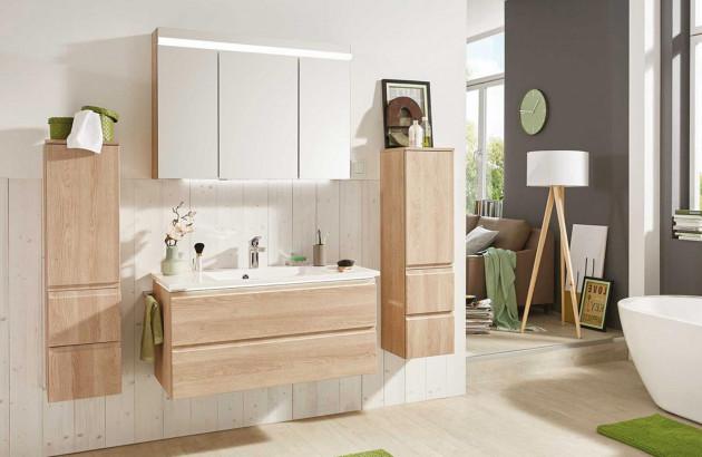 Rénovation de salle de bains avec la collection Air de Cedam