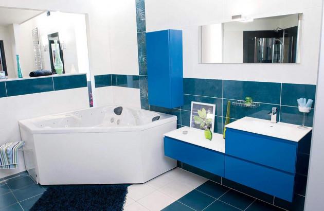 Salle de bains avec spa Ibiza de Bespa