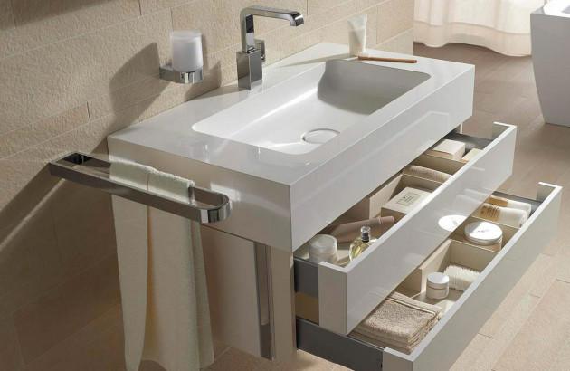 meuble vasque multifonction
