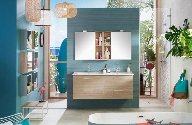 meuble salle de bains multifonctions