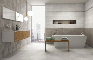 Comment poser du carrelage mural blog espace aubade - Recouvrir un carrelage mural de salle de bain ...