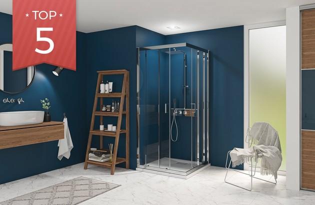 Top 5 des portes coulissantes pour la salle de bain