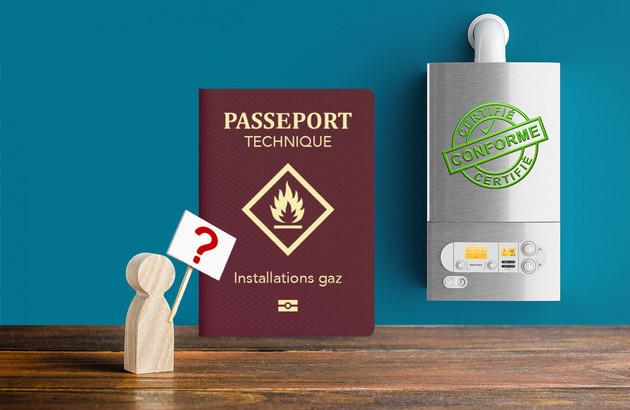 Qu'est-ce que le passeport technique gaz?