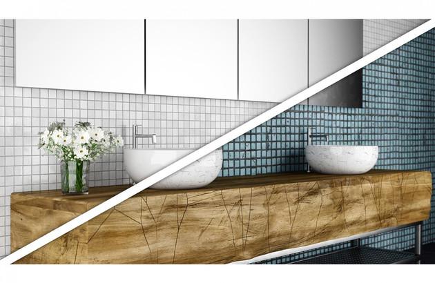 Comment relooker un meuble de salle de bains?