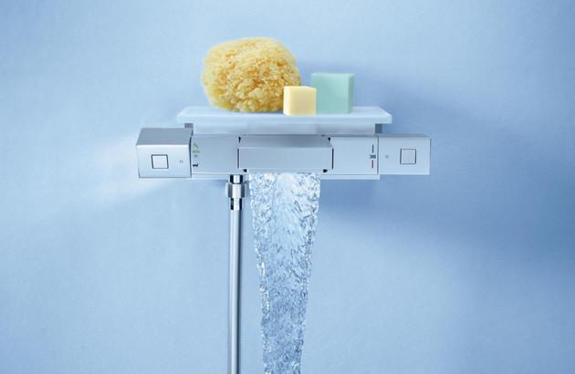 Mitigeur thermostatique bain/douche Grohtherm Cube de Grohe