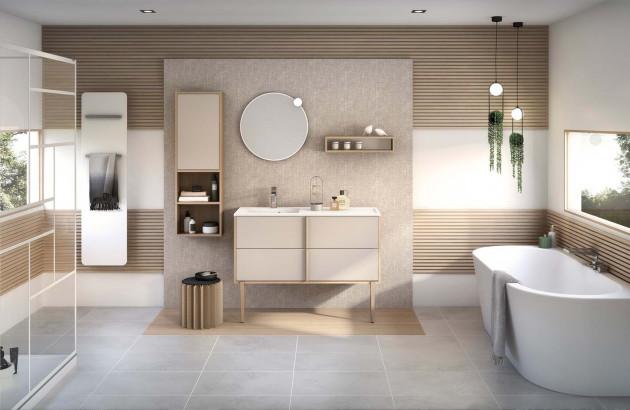 ensemble salle de bains zen