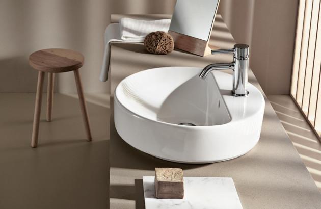 Vasque ronde Variform de Geberit, une gamme esthétique et résistante!