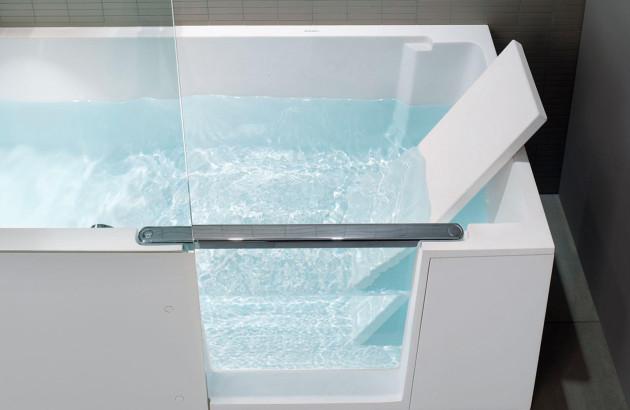 Une solution pour tous, la baignoire avec porte