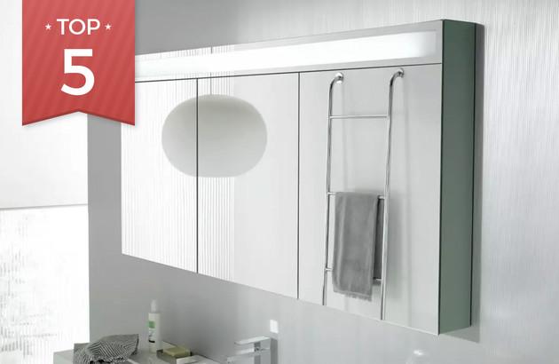 reliable quality famous brand outlet store sale 5 armoires de toilettes pour tout ranger | Espace Aubade