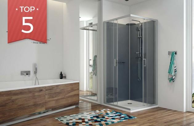 Top 5 des cabines de douches spéciales petits espaces