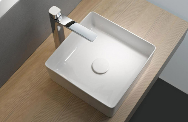 Vasque à poser carrée