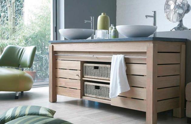 Comment nettoyer un meuble salle de bain en bois ? | Blog ...