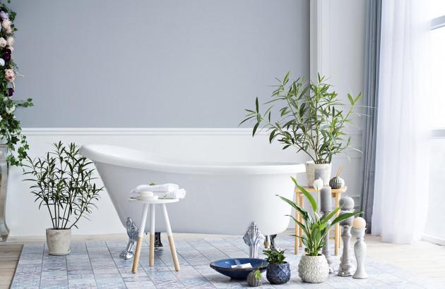 Salle de bains ambiance zen et naturelle