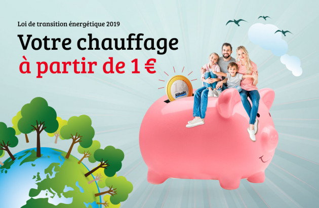 Chauffage à 1€