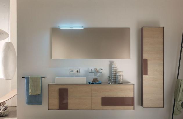 Salle de bains aménagée avec peu de moyens