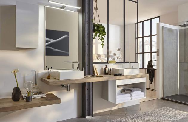 Meuble salle de bain suspendu: comment l\'installer | Espace ...
