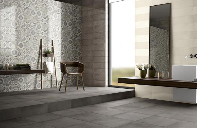 Salle de bains moderne et élégante