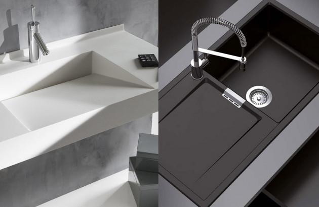 Quelle différence entre un évier et un lavabo ? | Espace Aubade