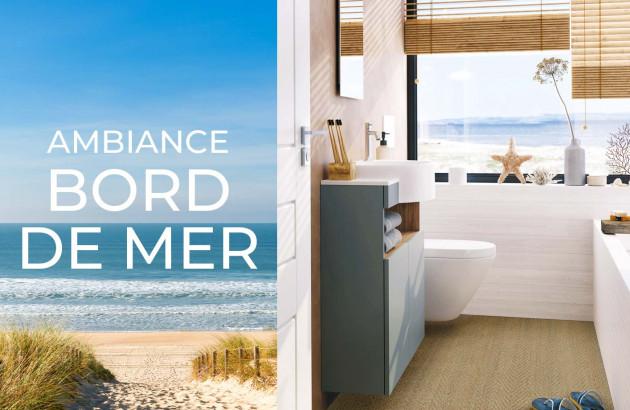 Creer votre salle de bain dans une ambiance bord de mer