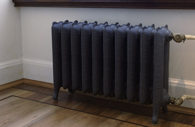 rouille sur radiateur en fonte