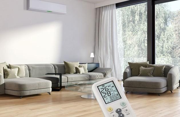 Climatisation murale Inverter dans un salon
