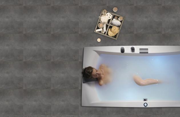 La baignoire de luxe et ses accessoires