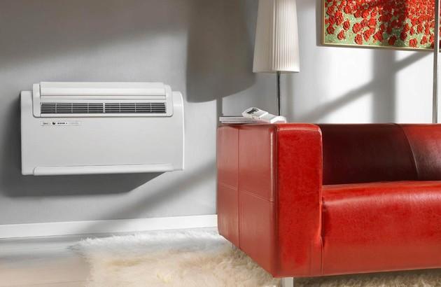 climatiseur console fixation murale
