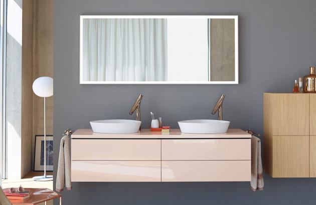 Meuble double vasque : plus pratique & plus de rangement | Espace Aubade