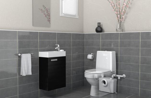 Broyeur WC est parfait pour les canalisations de petite taille