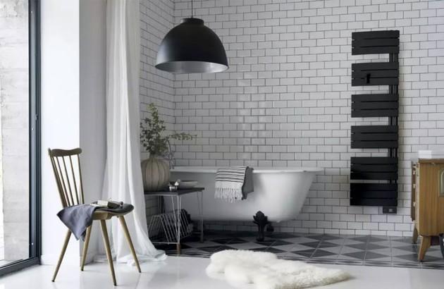 Quel carrelage choisir pour une salle de bains rétro ...