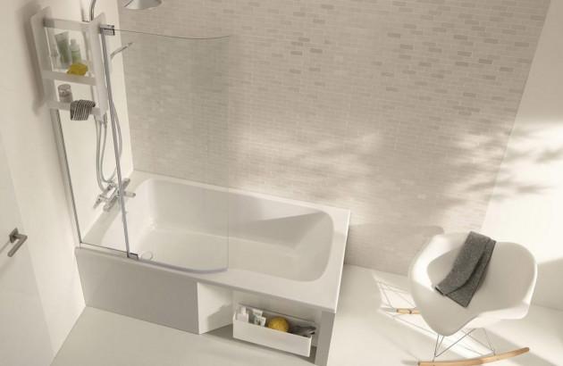 Choisir sa baignoire pour une petite salle de bains | Espace ...