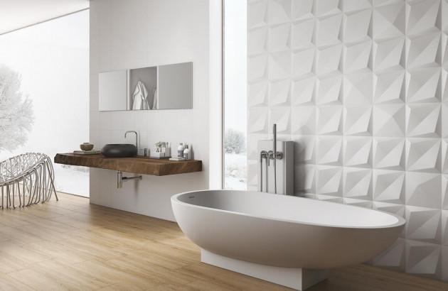 Salle de bains : carrelage, peinture, béton ciré, faïence ...