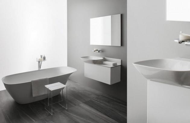 Salle de bains minimaliste et épurée | Blog Espace Aubade