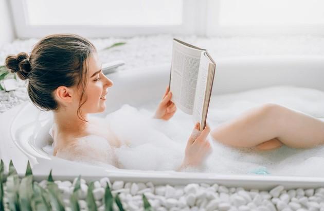 La baignoire pour se détendre