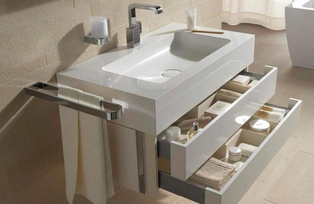 Sélection de meubles sous vasque avec tiroirs pour un rangement facilité