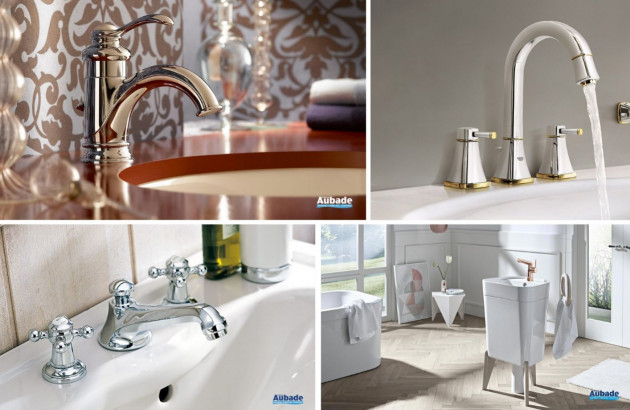 Sélection de robinetterie idéale pour une salle de bains classique