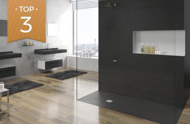 Top 3 des réalisations de douche avec rangements intégrés