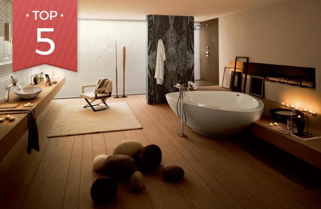 5 baignoires îlot pour embellir la Salle de Bain | Espace Aubade