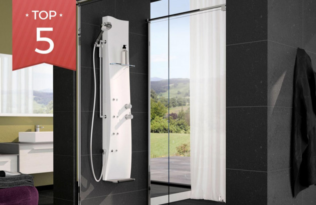 Top 5 colonnes de douche hydromassantes pour les parents