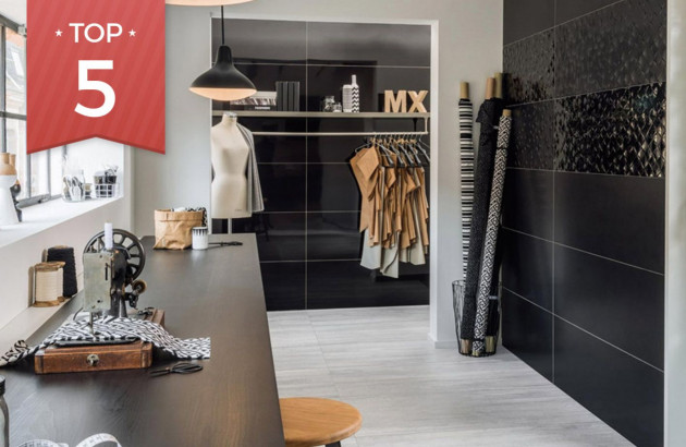 Top 5 de carrelage noir et blanc pour votre salle de bains