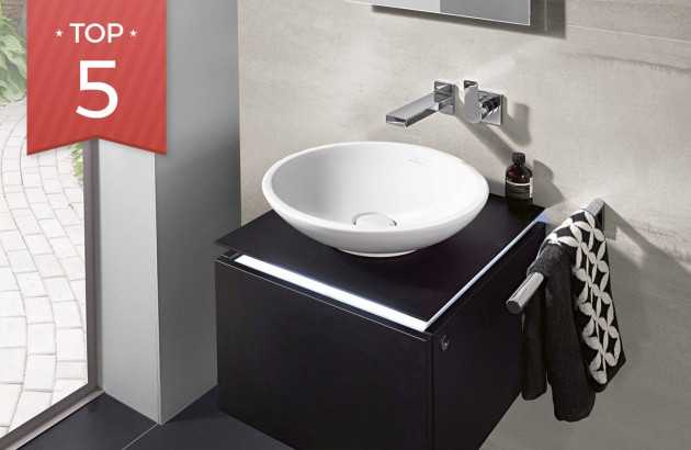 Sélection de vasques idéales pour rénover une petite salle de bains