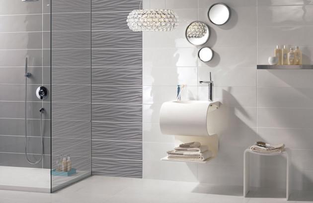 Carrelage mural de salle de bain : tout savoir | Blog Espace ...